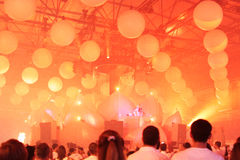 KIJÓW UKRAINA, MAJ, - 5: Furory Innerspace przedstawienie przy NEC na Maju 5, 2012 w Kijów, Ukraina (ID&T) Obrazy Stock