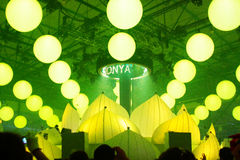 KIJÓW UKRAINA, MAJ, - 5: Furory Innerspace przedstawienie przy NEC na Maju 5, 2012 w Kijów, Ukraina (ID&T) Zdjęcie Royalty Free