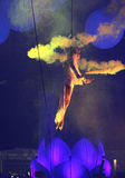KIJÓW UKRAINA, MAJ, - 5: Furory Innerspace przedstawienie przy NEC na Maju 5, 2012 w Kijów, Ukraina (ID&T) Zdjęcia Stock
