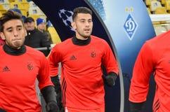 Kijów UKRAINA, OCT, - 19, 2016: Pizzi podczas UEFA Wstawia się Le Obrazy Stock