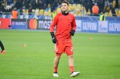 Kijów UKRAINA, OCT, - 19, 2016: Pizzi podczas UEFA Wstawia się Le Zdjęcia Stock
