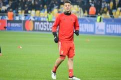 Kijów UKRAINA, OCT, - 19, 2016: Pizzi podczas UEFA Wstawia się Le Fotografia Royalty Free
