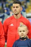 Kijów UKRAINA, OCT, - 19, 2016: Pizzi podczas UEFA Wstawia się Le Obrazy Royalty Free