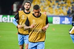 Kijów UKRAINA, SEP, - 13, 2016: Allan podczas UEFA Wstawia się Le Obraz Royalty Free