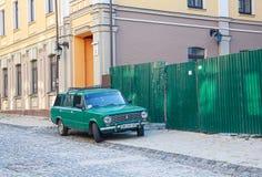 Kijów Ukraina, Wrzesień, - 20, 2015: Stary robić samochód Fotografia Royalty Free