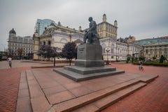 Kijów Ukraina, Wrzesień, - 09, 2018: Widok Krajowa opera w Kijów zdjęcie royalty free