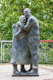 KIJÓW UKRAINA, WRZESIEŃ, - 23, 2016: zabytek w Mariinsky parku Obrazy Royalty Free