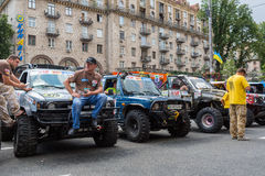 KIJÓW, UKRAINE-JUNE 29: Ukraina trofeum29, 2013 w Kijów, Ukrai Zdjęcie Stock