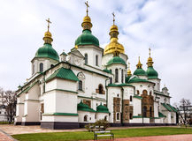 Kijów w Ukraina Świętego Sophia monasteru katedra, UNESCO świat On obrazy stock