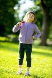 kij bejsbolowy dziecka dziewczyny park Fotografia Stock
