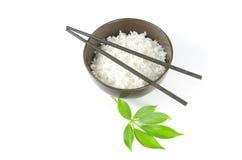 Kij i ryż obrazy royalty free