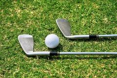Kije golfowi Obrazy Royalty Free
