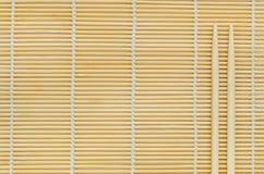 Kije na drewnianym tle. Zdjęcie Stock
