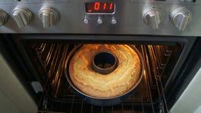 Kijk in de oven Stock Fotografie