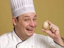 Kijk mijn ei. Stock Foto's