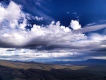 Kijk uit landschap Royalty-vrije Stock Foto