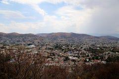 Kijkend over Oaxaca-stad, Mexico royalty-vrije stock foto