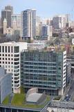 Kijkend over Seattle van Smith Tower-observatiedek, Seattle, Washington Royalty-vrije Stock Foto's