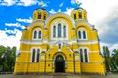 Kijowska Volodymyr katedra 02 obraz stock
