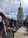 Kijowski miasto, Ukraina Zdjęcie Royalty Free