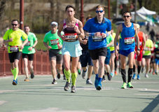 Kijowski przyrodni maraton w Kyiv Zdjęcie Stock