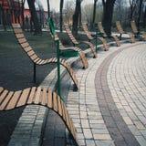 Kijowski uliczny widok Zdjęcia Stock