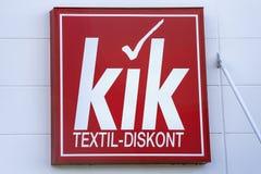 KIK-Embleem Stock Afbeeldingen