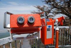 kikarefuji montering två som visar Fotografering för Bildbyråer