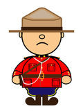 Kiki Canadian Mounted Police Royalty Free Stock Photo