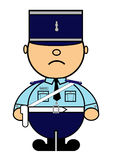 Kiki French gendarme Royalty Free Stock Photo