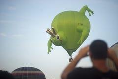 Kikkerballon royalty-vrije stock foto
