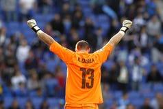 Kiko Casilla of RCD Espanyol Stock Photos