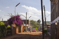 Kikuyu Streets, Kenya, editorial Royalty Free Stock Image