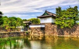 Kikyo port, en ingång av den imperialistiska slotten Fotografering för Bildbyråer