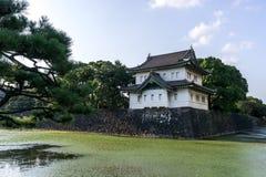 Kikyomon gate in tokyo royalty free stock photo