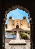 Kila Lahore Paquistán de shahi del fuerte de shahi del fuerte de Lahore Fotografía de archivo