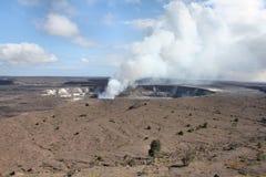 Kilaeua wulkan w Hawaje Obraz Royalty Free