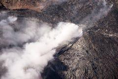 Kilauea威胁夏威夷家 免版税图库摄影