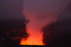 Kilauea火山 免版税库存图片
