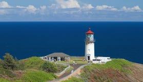 Kilauea灯塔 库存照片