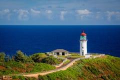 Kilauea灯塔 免版税库存图片