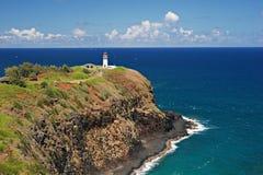 Kilauea灯塔 库存图片
