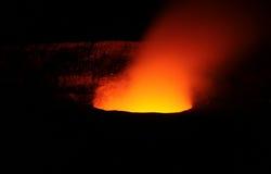 kilauea кратера стоковое изображение rf