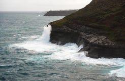 Kilauea点 免版税库存照片