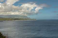Kilauea Bay coast, Kauai, Hawaii Royalty Free Stock Image
