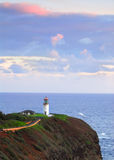 Kilauea Bay lighthouse Stock Photography