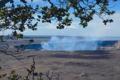 Kilauea Caldera royaltyfri fotografi