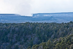 Kilauea Caldera Stock Photo