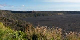 Kilauea Caldera arkivbilder