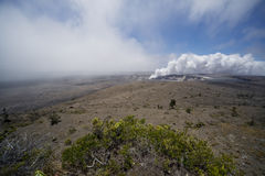 Kilauea Caldera  Royalty Free Stock Images